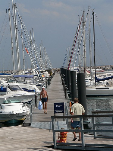 Warnemünde (GERMANY): Yachthafen in Warnemünde